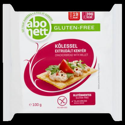 Kép Abonett gluténmentes extrudált kenyér kölessel 100 g