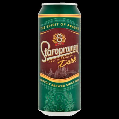 Kép Staropramen Dark minőségi barna sör 4,4% 500 ml