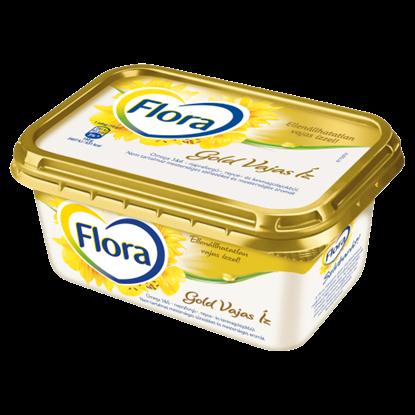 Kép Flora Gold Vajas Íz csészés margarin 400 g