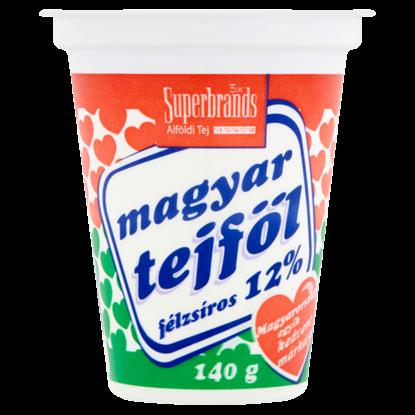 Kép Magyar Tejföl 12%-os félzsíros tejföl 140 g