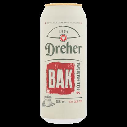Kép Dreher Bak minőségi barna sör 7,3% 0,5 l
