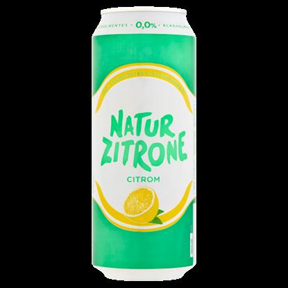 Kép Natur Zitrone alkoholmentes, citrom ízű szénsavas ital gyümölcscukorral 0,5 l doboz