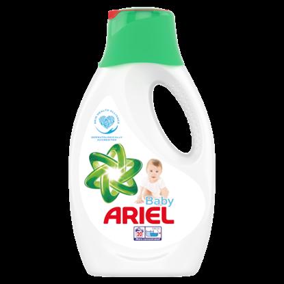 Kép Ariel Baby Folyékony Mosószer, 1,1 l, 20 Mosáshoz