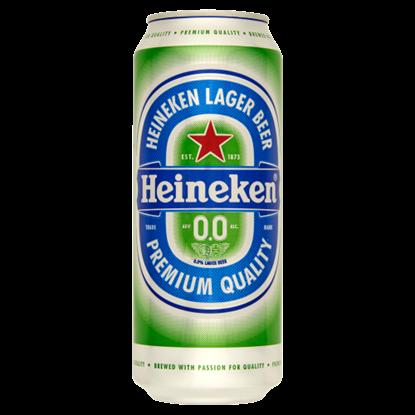 Kép Heineken alkoholmentes világos sör 0,5 l doboz