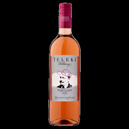 Kép Csányi Pincészet Teleki Villányi Rosé Cuvée száraz rosébor 12,5% 75 cl