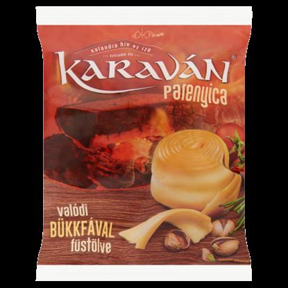 Kép Karaván félkemény, félzsíros, füstölt parenyica sajt 105 g