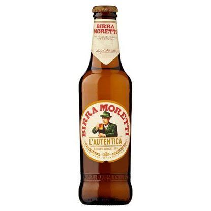 Kép Birra moretti sör 0,33l