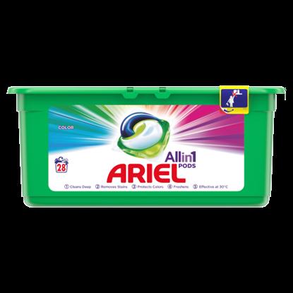 Kép Ariel Allin1 PODS Color Mosókapszula, 28 Mosáshoz