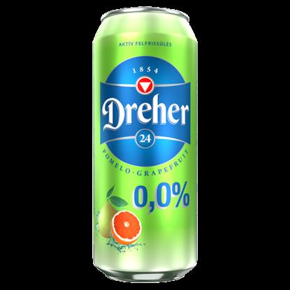 Kép Dreher 24 pomelo-grapefruit ízű ital és alkoholmentes világos sör keveréke 0,5 l