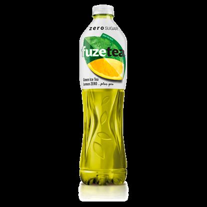 Kép FUZETEA Zero energiamentes, szénsavmentes citromízű üdítőital édesítőszerekkel 1,5 l