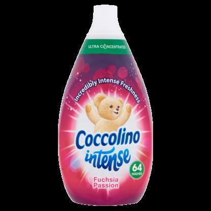 Kép Coccolino Intense szuperkoncentrált öblítő Fuchsia Passion 64 mosás 960 ml