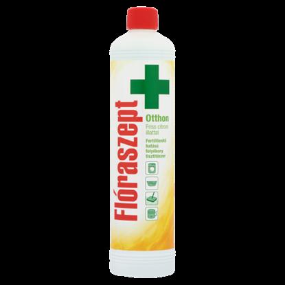 Kép Flóraszept Otthon fertőtlenítő hatású folyékony tisztítószer friss citrom illattal 1000 ml