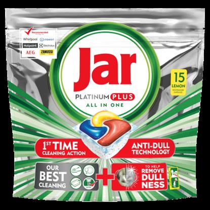 Kép Jar Platinum Plus Mosogatógép-Kapszula, Lemon, 15 db