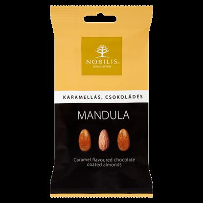 Kép Nobilis karamellás, csokoládés mandula 100 g