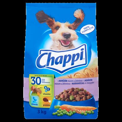 Kép Chappi száraz állateledel kutyák számára marha-zöldség 3 kg