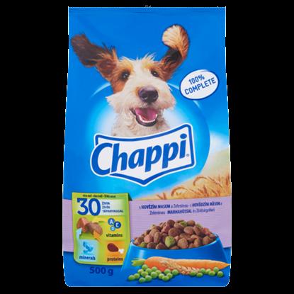 Kép Chappi száraz állateledel kutyák számára marha-zöldség 500 g