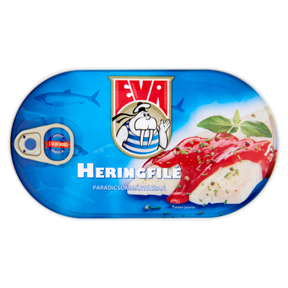 Kép Eva heringfilé paradicsommártásban 170 g