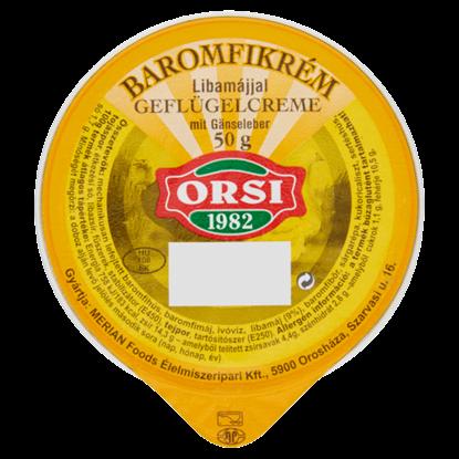 Kép Orsi baromfikrém libamájjal 50 g