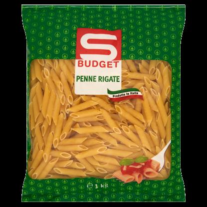 Kép S-Budget Penne Rigate Tollhegy durum száraztészta 1 kg