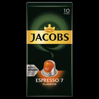 Kép Jacobs Espresso 7 Classico őrölt-pörkölt kávé kapszulában 10 db 52 g