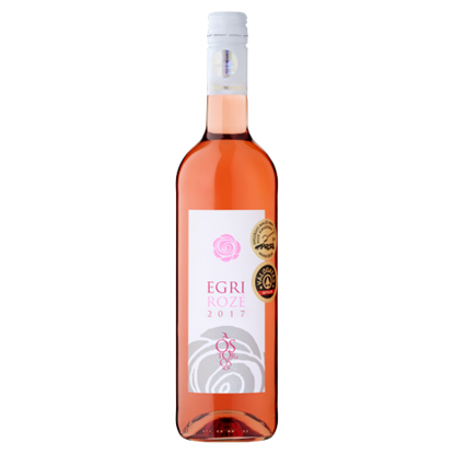 Kép Ostorosbor Egri Merlot-Pinot Noir Rozé száraz rozébor 12% 750 ml