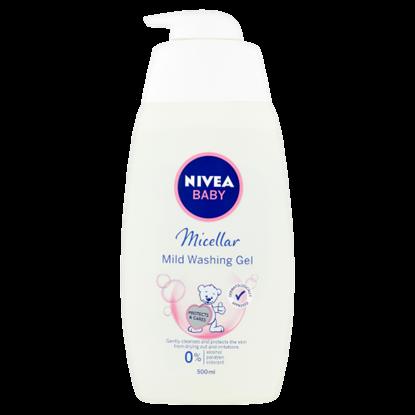 Kép NIVEA Baby gyengéd micellás tisztító gél 500 ml