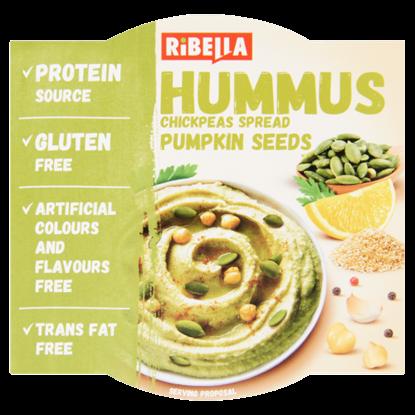 Kép RiBella Hummus csicseriborsó krém tökmaggal 80 g