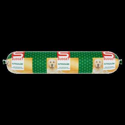 Kép S-Budget kutyaszalámi teljes értékű állateledel felnőtt kutyák számára csirkével 1000 g