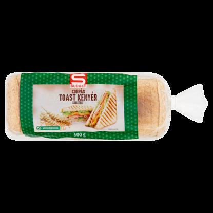 Kép S-Budget szeletelt korpás toast kenyér 500 g