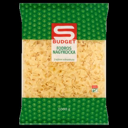 Kép S-Budget fodros nagykocka 2 tojásos száraztészta 1000 g