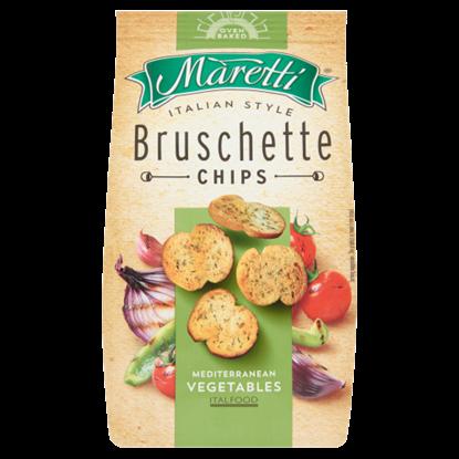 Kép Maretti mediterrán zöldséges ízesítésű pirított kenyérkarikák 70 g