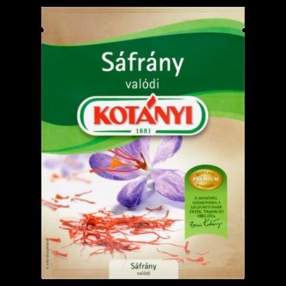 Kép Kotányi valódi, szárított sáfrány 0,12 g