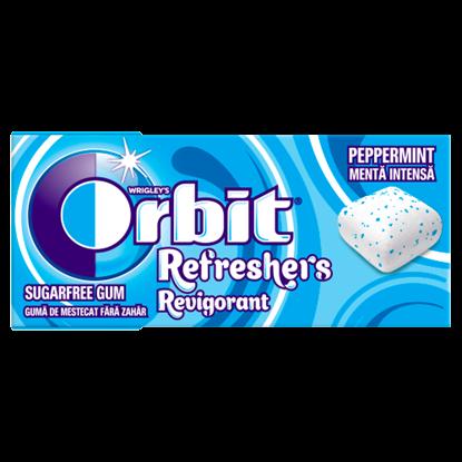 Kép Orbit Refreshers rágógumi Peppermint 7 db 15,6 g