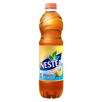 Kép Nestea őszibarack ízű tea üdítőital, cukrokkal és édesítőszerrel 1,5 l