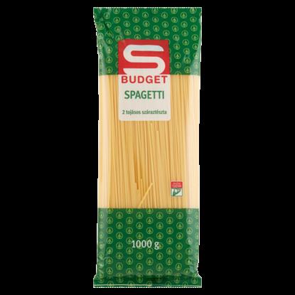Kép S-Budget 2 tojásos spagetti száraztészta 1000 g