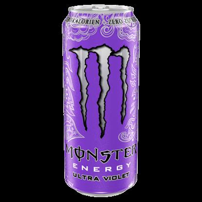 Kép Monster Energy Ultra Violet szénsavas energiaital koffeinnel és édesítőszerekkel 500 ml