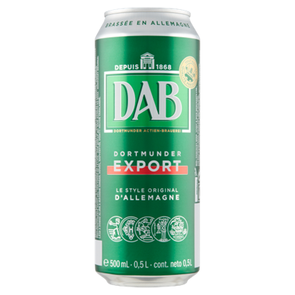Kép DAB világos sör 5% 0,5 l