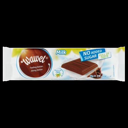 Kép Wawel tejcsokoládé hozzáadott cukor nélkül, édesítőszerrel 30 g