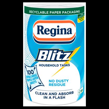 Kép Regina Blitz konyhai papírtörlő 3 rétegű 1 tekercs