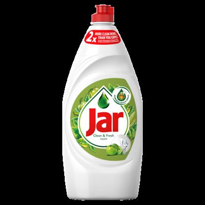Kép Jar Clean&Fresh Mosogatószer Alma Illatban, Gazdag Formulával A Ragyogóan Tiszta Edényekért, 900 ml