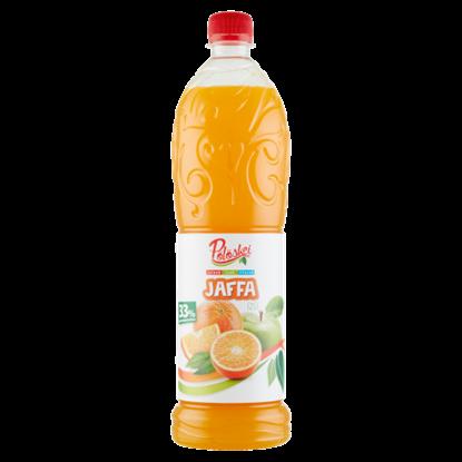 Kép Pölöskei Jaffa narancs ízű vegyes gyümölcsszörp cukorral és édesítőszerrel 1 l