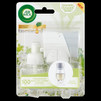 Kép Air Wick Fehér virágok elektromos légfrissítő készülék & utántöltő 19 ml