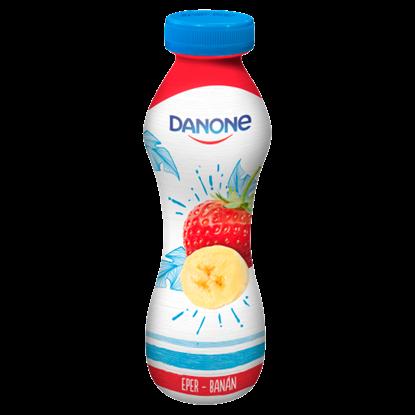 Kép Danone eper-banán ízű fermentált ital 290 g