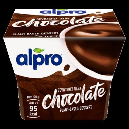 Kép ALPRO ördögien sötét étcsokoládés desszert 125 g