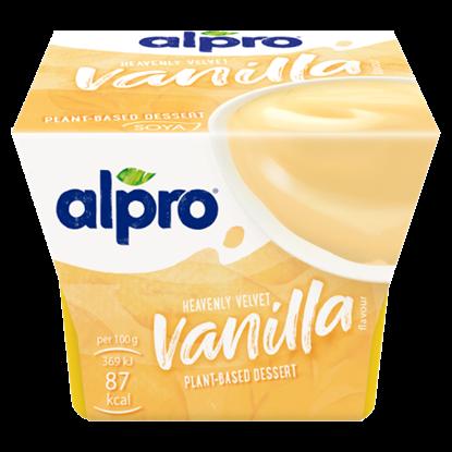 Kép ALPRO vanília ízű szójadesszert 125 g