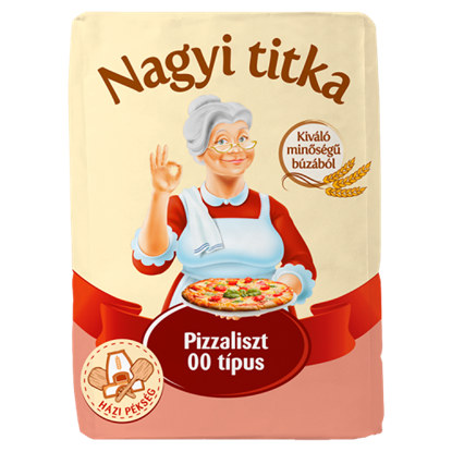 Kép Nagyi titka pizzaliszt 00 típus 1 kg