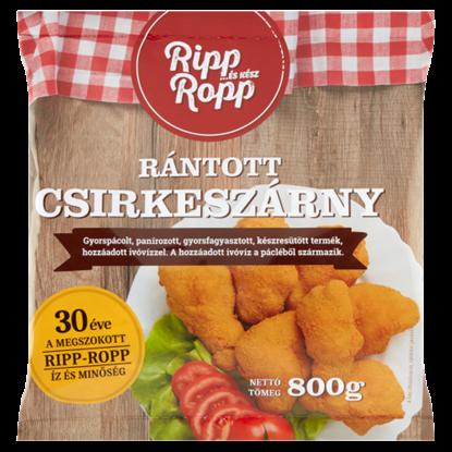 Kép Ripp-Ropp gyorsfagyasztott rántott csirkeszárny 800 g