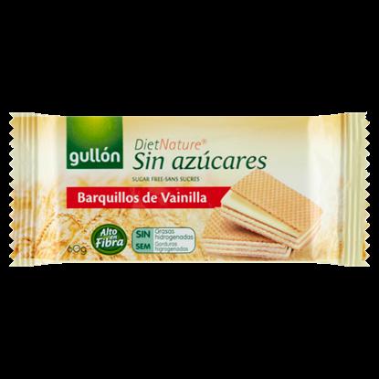Kép Gullón DietNature cukormentes vanília ízesítésű krémmel töltött édesítőszerrel 60 g