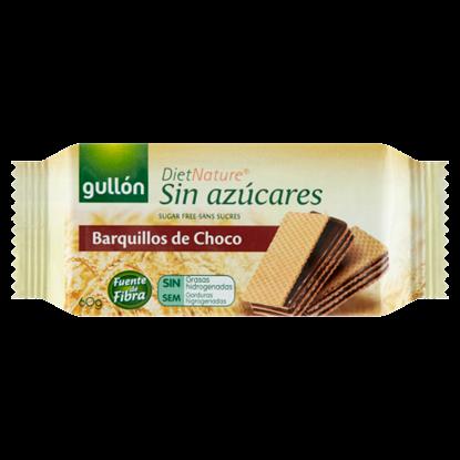 Kép Gullón DietNature cukormentes kakaós ízesítésű krémmel töltött édesítőszerrel 60 g