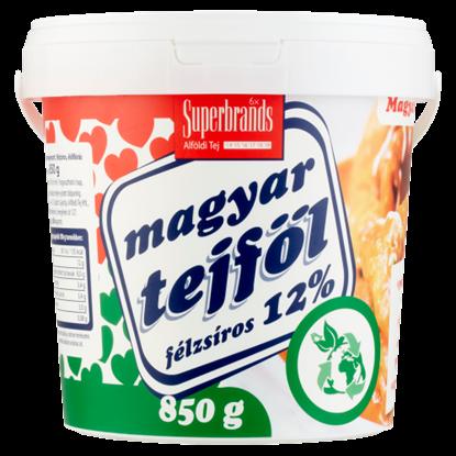 Kép Magyar Tejföl 12%-os félzsíros tejföl 850 g